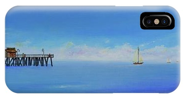 Sailing By San Clemente IPhone Case