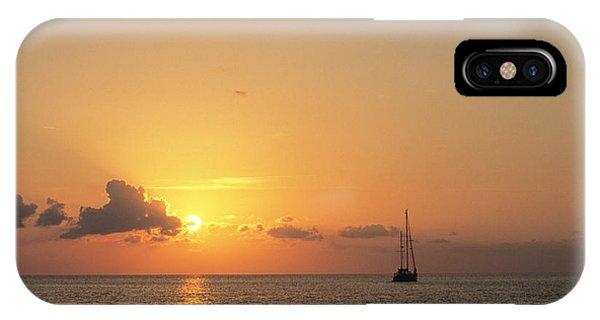 Crusing The Bahamas IPhone Case