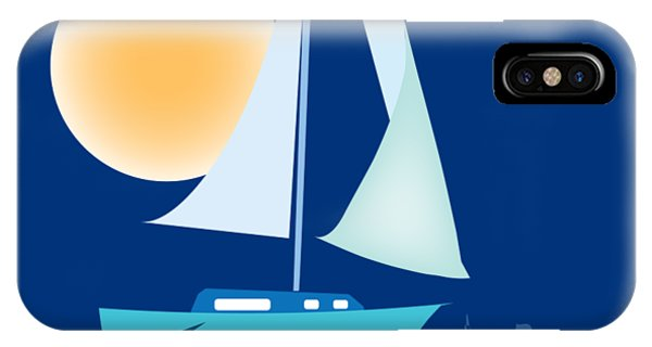 Sailing Day IPhone Case