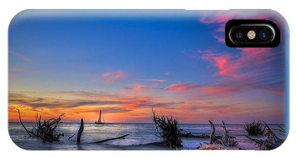 Sailing Hazard IPhone Case