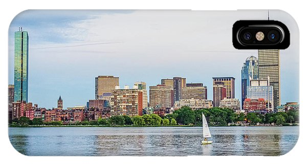 Sailing In Back Bay Phone Case by Mike Ste Marie