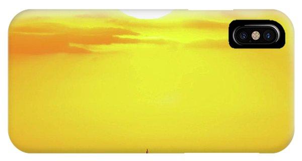 Sailing In Hawaiian Sunshine IPhone Case