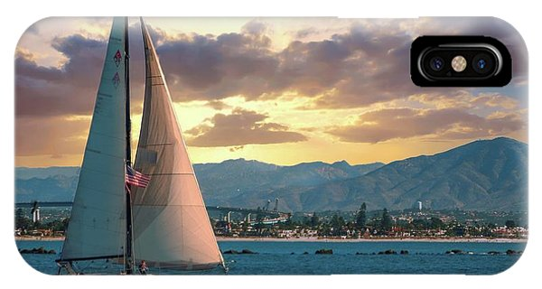 Sailing In San Diego IPhone Case