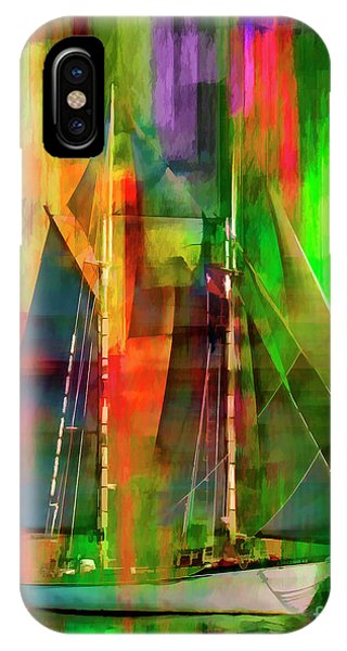 Sailing In The Abstract 2016 IPhone Case