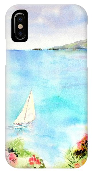 Sailing In The Caribbean IPhone Case