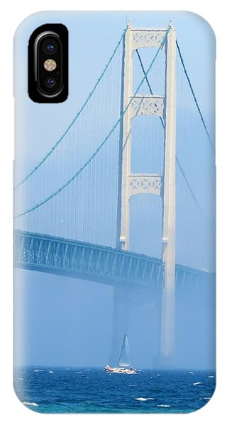 Sailing In The Fog IPhone Case