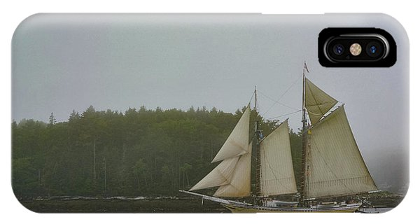 Sailing In The Mist IPhone Case