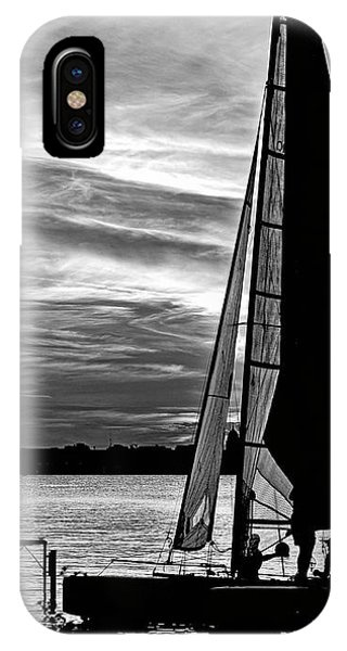 Sailing - Lake Monona - Madison - Wisconsin 2 IPhone Case