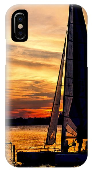Sailing - Lake Monona - Madison - Wisconsin IPhone Case