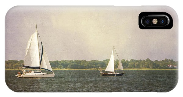 IPhone Case featuring the photograph Sailing by Michael Colgate
