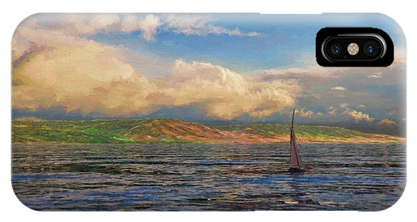 Sailing On Galilee IPhone Case