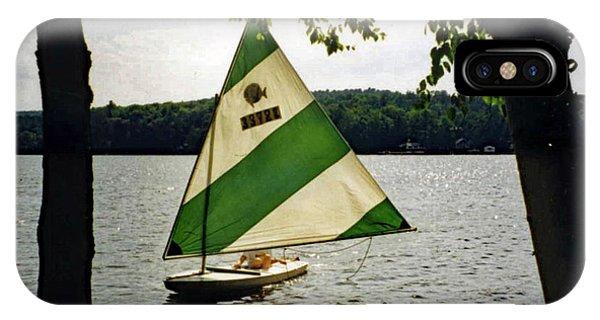 Sailing On Lake Dunmore No. 1 IPhone Case