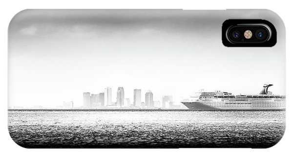 Navigation iPhone Case - Sailing Out Of Cigar City by Marvin Spates