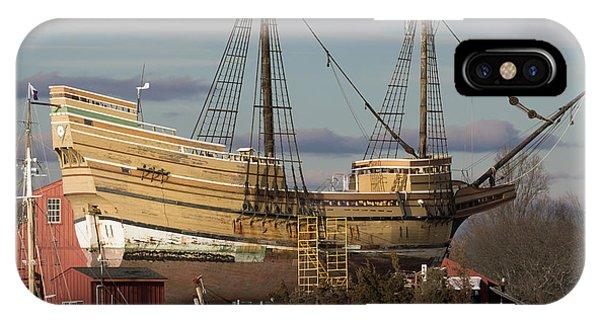 Sailing Ship Repairs IPhone Case