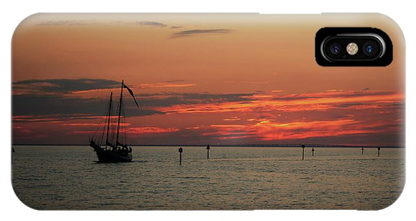 Sailing Sunset IPhone Case