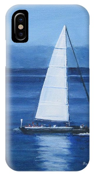 Sailing The Blues IPhone Case