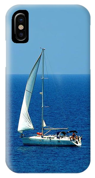 Sailing The Deep Blue Sea IPhone Case