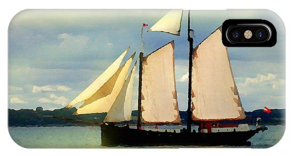 Sailing The Sunny Sea IPhone Case