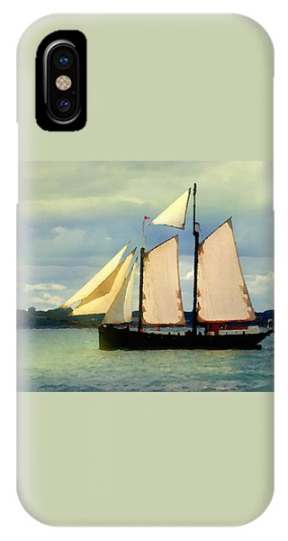 Sailing The Sunny Sea IPhone Case