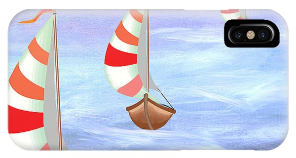 Sailing Threesome IPhone Case