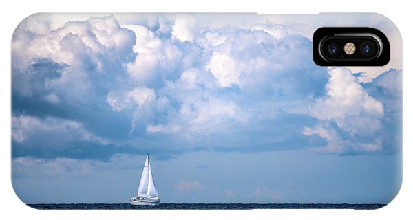 Sailing Under The Clouds IPhone Case