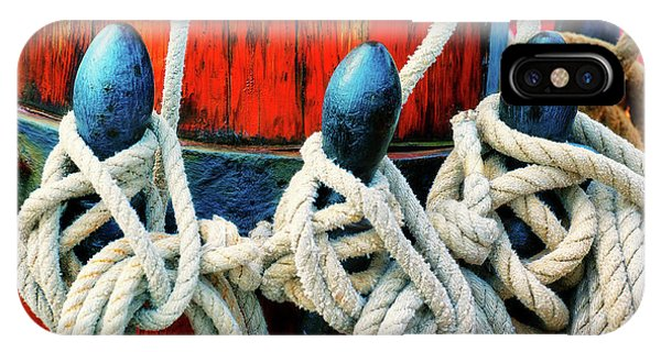 Sailor's Ropes IPhone Case