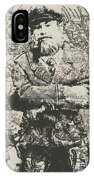 Explorer iPhone Case - Sailors Vintage Adventure by Jorgo Photography - Wall Art Gallery