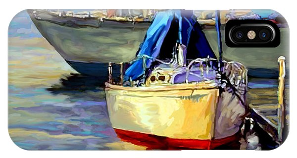Sails At Rest IPhone Case