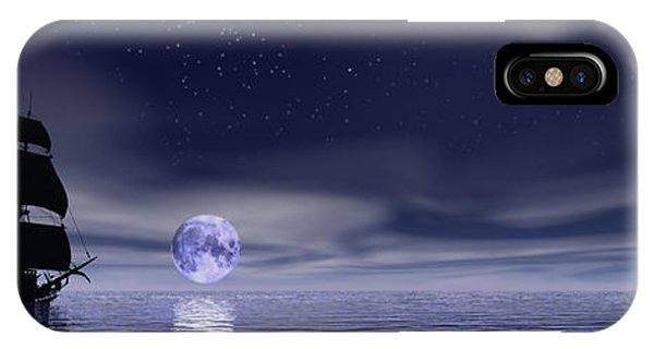 Sails Beneath The Moon IPhone Case