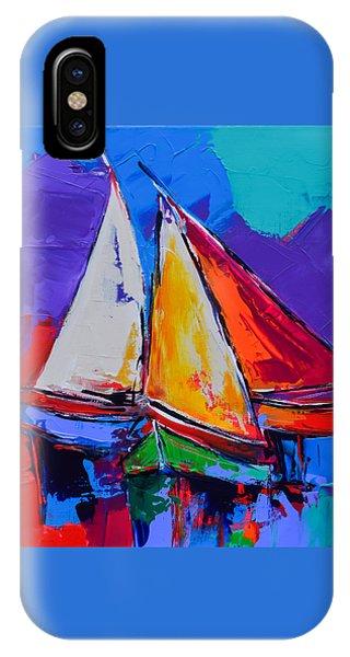 Sails Colors IPhone Case