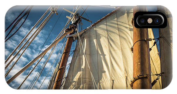 Sails In The Breeze IPhone Case