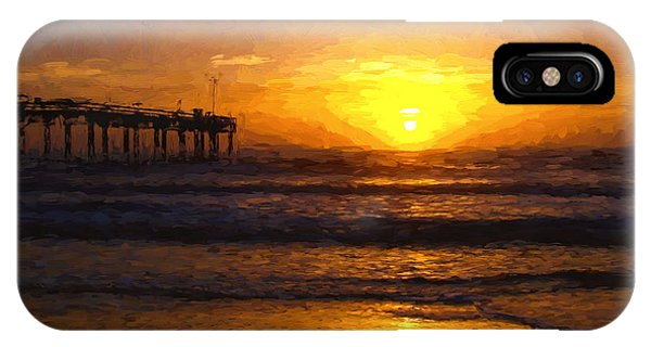 Saint Augustine Beach Sunrise IPhone Case