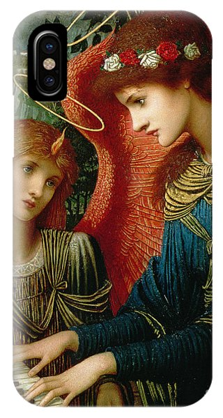 Oil iPhone Case - Saint Cecilia by John Melhuish Strukdwic