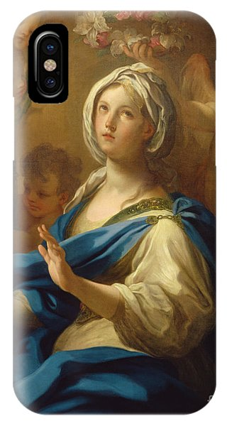 Saint Cecilia IPhone Case