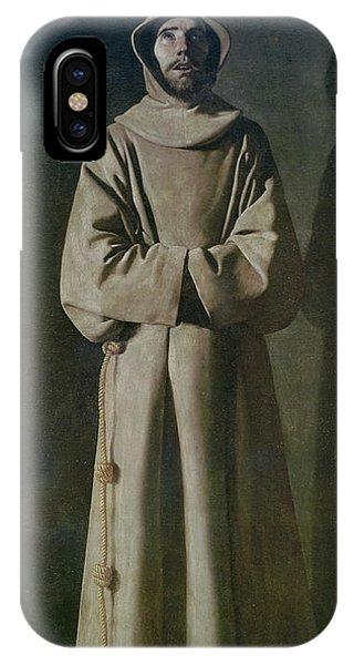 Poverty iPhone Case - Saint Francis by Francisco de Zurbaran