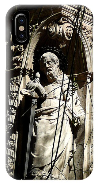 Saint Gardinan IPhone Case