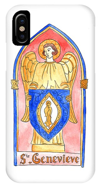 Saint Genevieve  IPhone Case