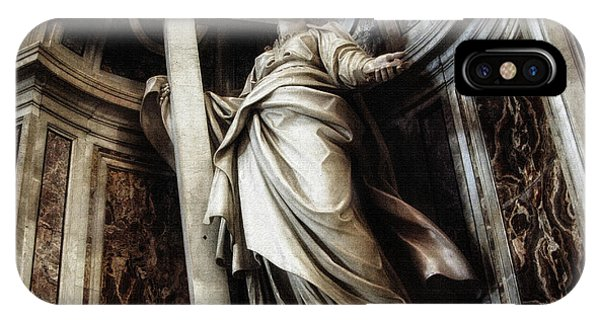 Saint Helena Statue Inside Saint Peter S Basilica Rome Italy IPhone Case