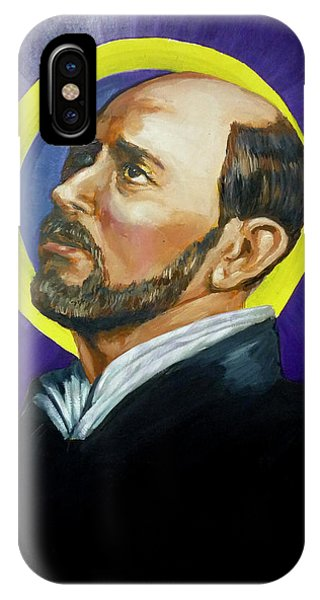 Saint Ignatius Loyola IPhone Case