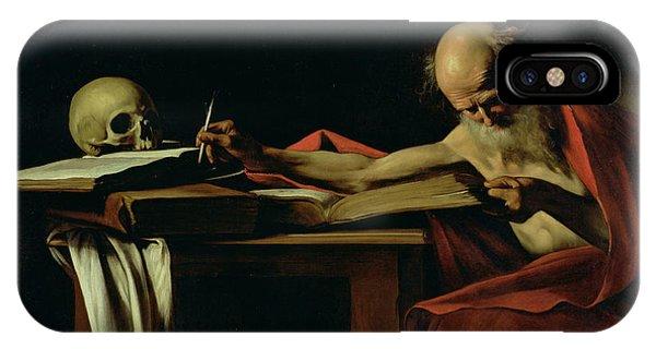 Saint Jerome Writing IPhone Case