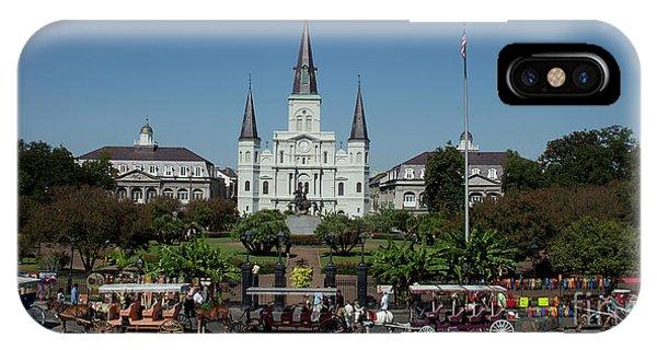 Saint Lewis Cathedral French Quarter New Orleans, La IPhone Case