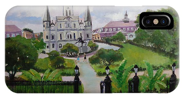 Saint Louis Cathedral IPhone Case