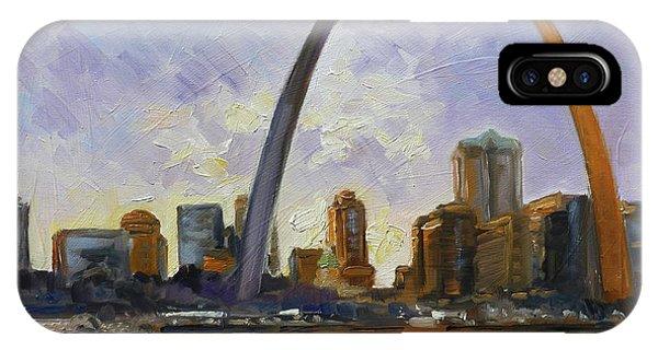 Saint Louis Skyline 3 IPhone Case