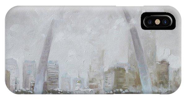 Saint Louis Winter Day IPhone Case