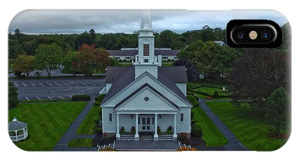 Saint Mary's Church From Above IPhone Case