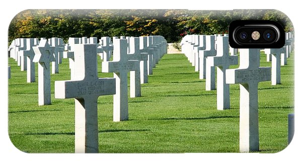 Saint Mihiel American Cemetery IPhone Case