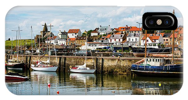 Saint Monans Harbour IPhone Case
