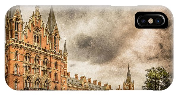 London, England - Saint Pancras Station IPhone Case