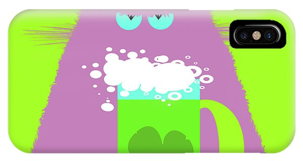 New Trend iPhone Case - Saint Patrick's Day Lilac Cat  by Zaira Dzhaubaeva