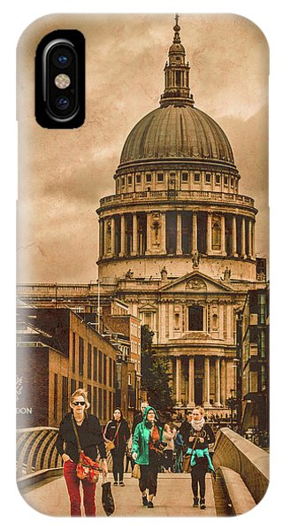 London, England - Saint Paul's In The City IPhone Case